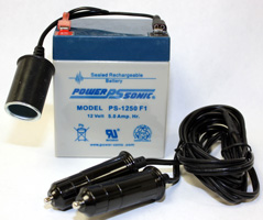 Batterie rechargeable 12 volts
