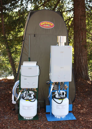 Decker's Portable Demand Water Cart