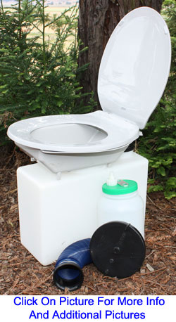ECO-Safe 50 USE RK AmmoBox Toilet System