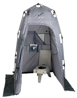 CleanWaste Outdoor Toilet and Privacy Tent  sc 1 st  Deckeru0027s Hot C& Showers & Camp Bathrooms u0026 Toilets