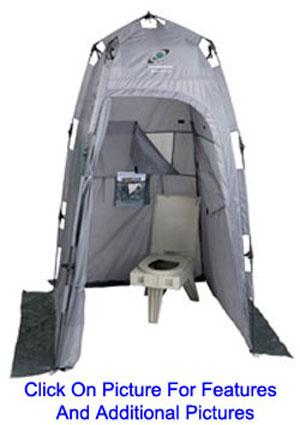 Homemade Hot Camp Shower