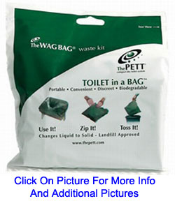 Wag Bag Toilet in a Bag