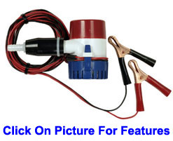 12v Pump Camp Shower Features