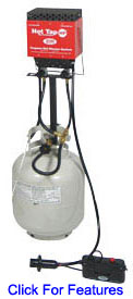 Zodi 2 Burner Bulk Propane Kit 1090 Features