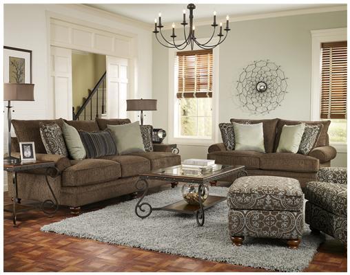 Newman S Furniture Corinthian Chunkster Chocolate Sofa
