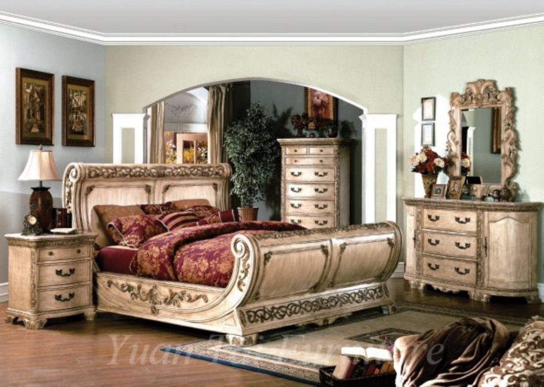 Newman 39 S Furniture Cannes Whitewash Bedroom Set