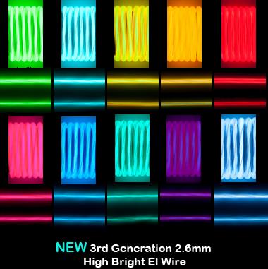 EL wire, Worldaglow, cool neon, neon wire, el wire online ...