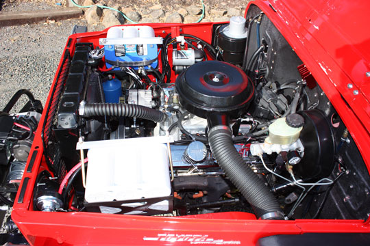 Edelbrock Injection FJ40 Land Cruiser