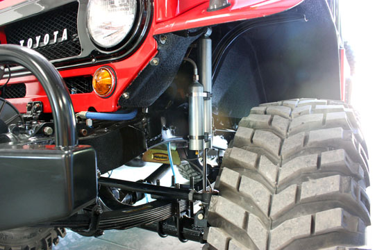FJ40 Land Cruiser Suspension