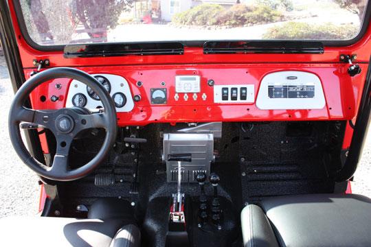 FJ40 Dash