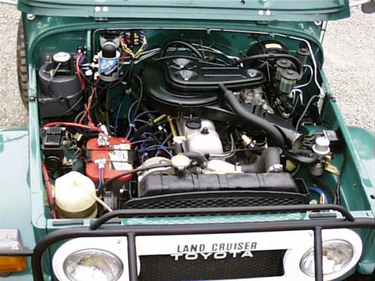 Fj Landcruiser Engine Compartment