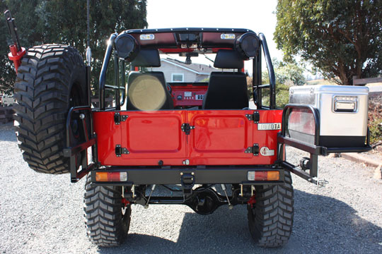 FJ40 Land Cruiser Rear Bumper