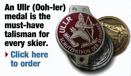 Ski Restort Custom Medals by Ullr Ski Medals