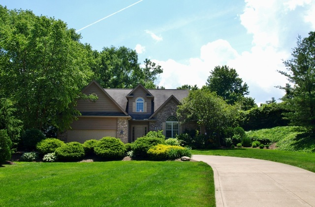 Gatehouse Estates Double Lot Home for Sale Rocky River Ohio