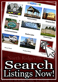 Search North Ridgeville Ohio Homes Listings